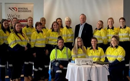 All female entry level programme at Mineral Resources